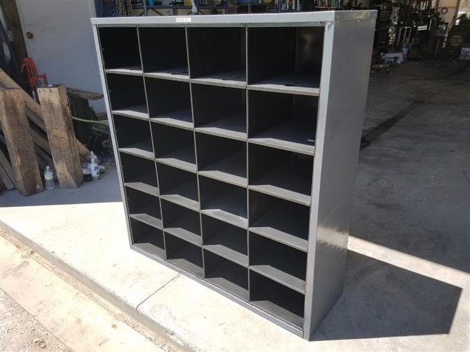 Bolt Bin Storage Cabinet Bigiron Auctions
