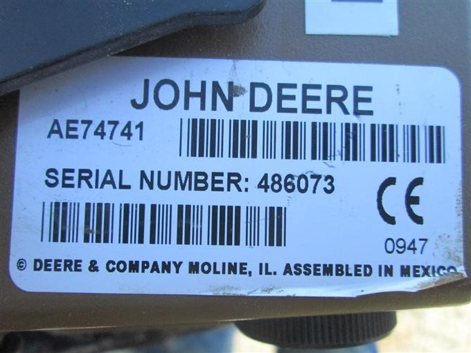 John Deere Bale Trak Pro Round Baler Monitor BigIron Auctions