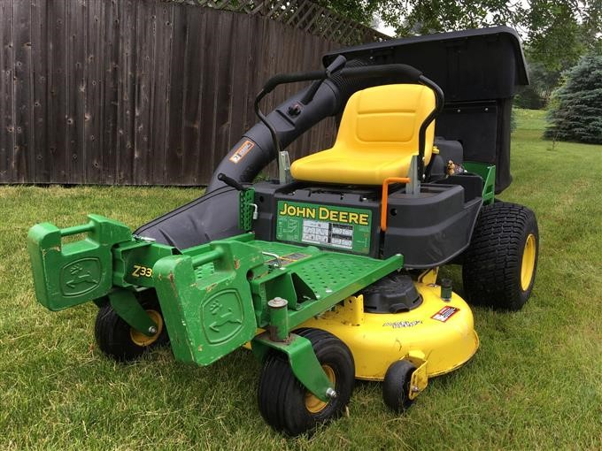 2016 John Deere Z335E ZTrak Mower BigIron Auctions