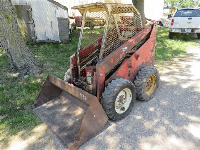 1979 Gehl 2600 Skid Steer BigIron Auctions