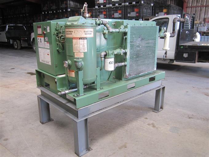 Gardner Denver EDEQJB Constant Run 125PSI Air Compressor