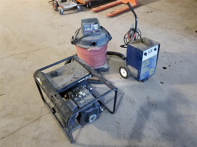 Home-Lite Generator And Napa Battery Charger BigIron Auctions on