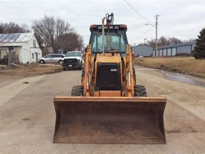 1998 Case 580 Super L 4x4 Loader Backhoe BigIron Auctions