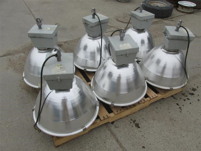 Ge Lighting Systems 6 Lights Iron Auctions