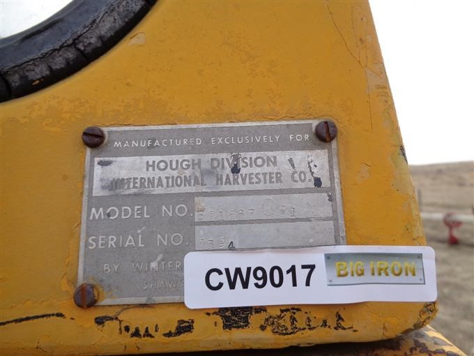 International Hough H60 Wheel Loader BigIron Auctions