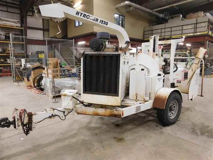 2003 Woodchuck Wood Chipper Co HyRoller 1250 Portable Self-Contained