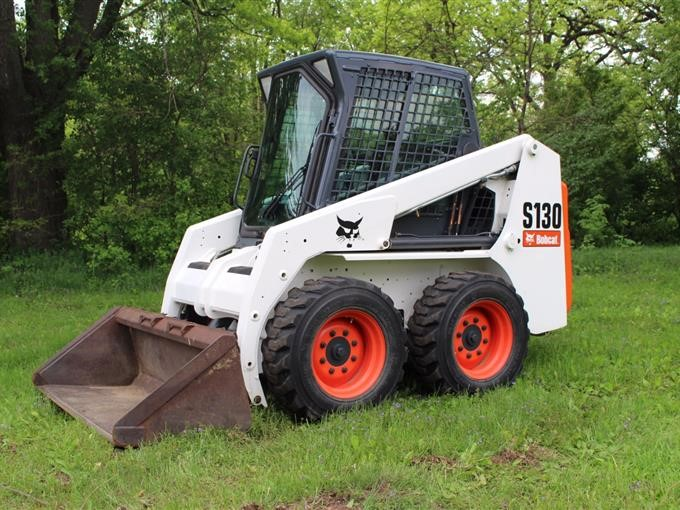 2013 Bobcat S130 Skid Steer BigIron Auctions