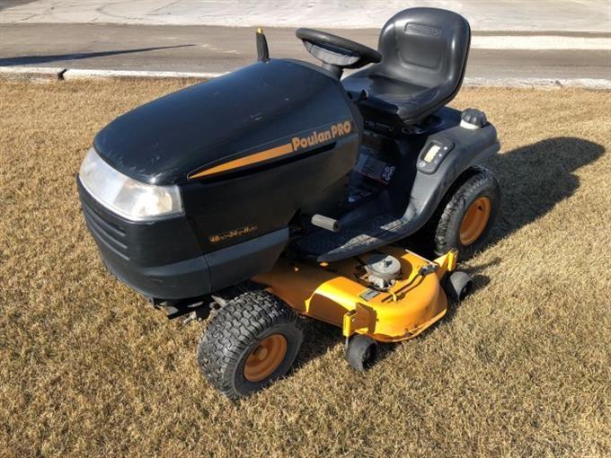 2002 Electrolux Poulan Pro Riding Lawn Mower Iron Auctions
