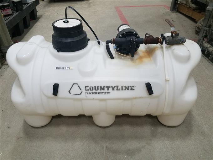 CountyLine/Tractor Supply Sprayer Tank & Pump BigIron Auctions