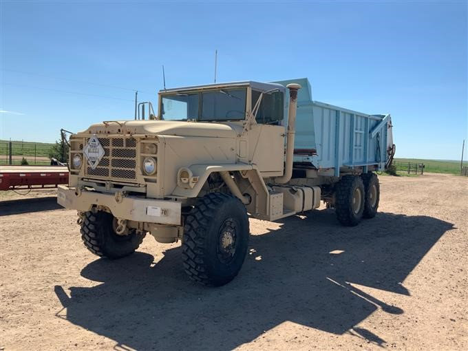 1990 American General 6x6 T/A Manure Spreader Truck BigIron Auctions