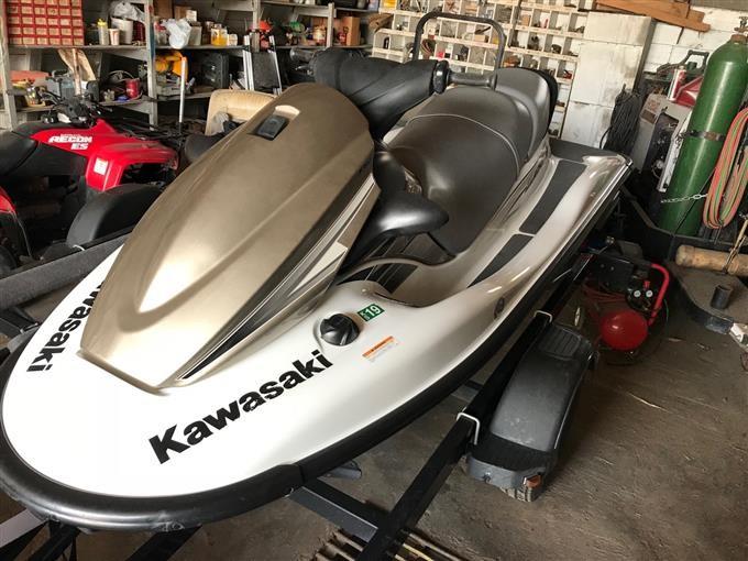 2010 Kawasaki STX 15f Jet Ski With Trailer BigIron Auctions
