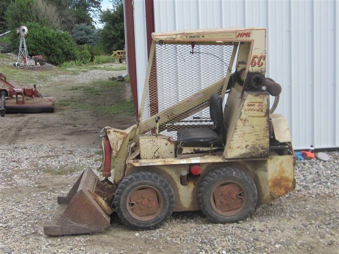 hydra mac 6c skid steer loader
