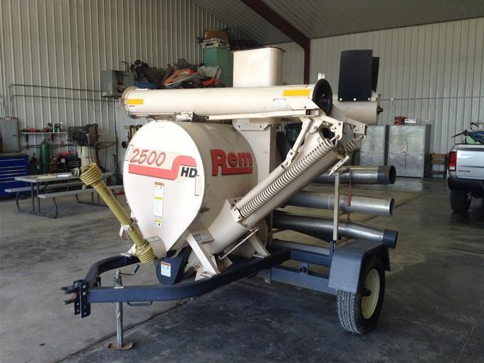 Rem 2500HD Grain Vac BigIron Auctions
