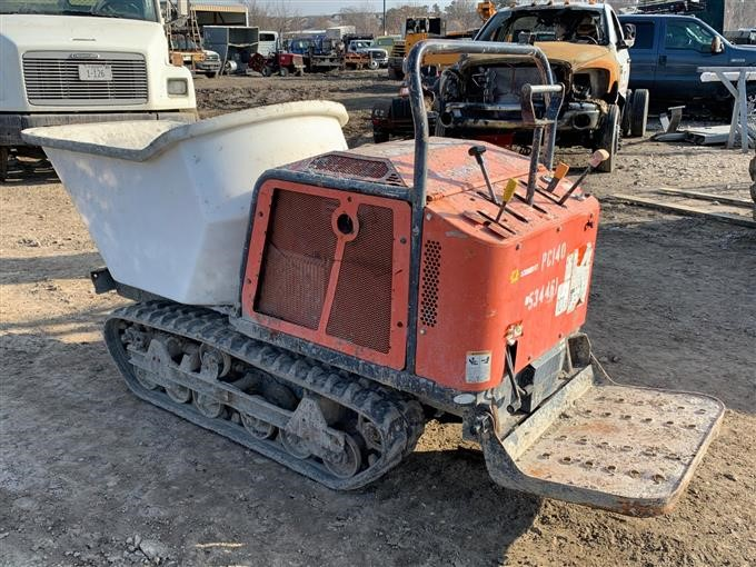 2013 Canycom SC75 Rubber-Tracked Concrete Buggy BigIron Auctions