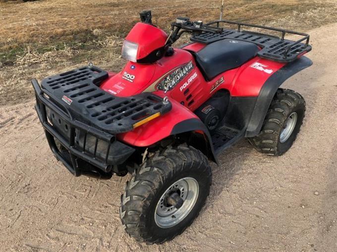 2001 Polaris Sportsman 500 4x4 4-Wheeler BigIron Auctions