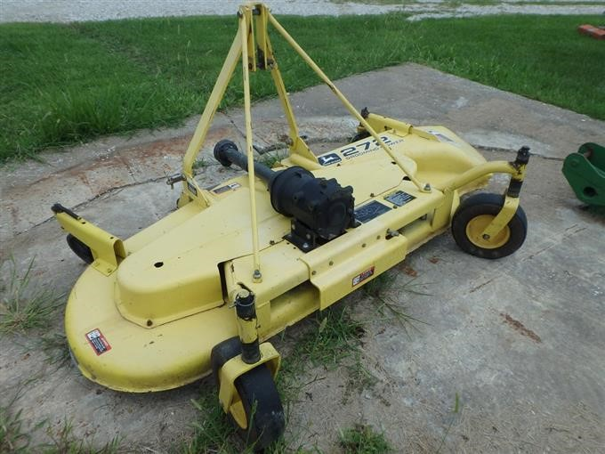 2007 John Deere 272 Grooming Mower BigIron Auctions
