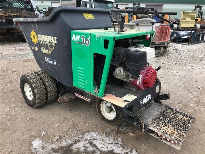2013 Allen AR16 Self-Propelled Concrete Buggy BigIron Auctions