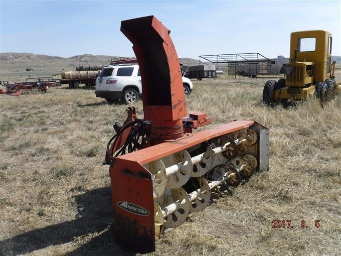 Snow Blower Found : New idea point hitch snow blower bigiron auctions