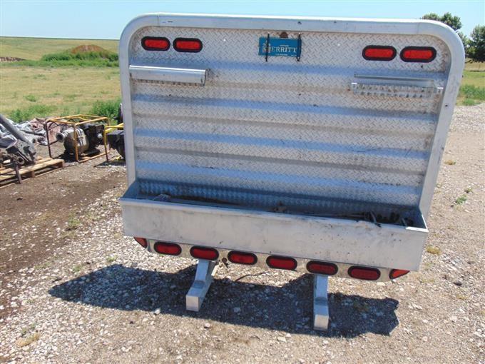 merritt semi truck headache rack