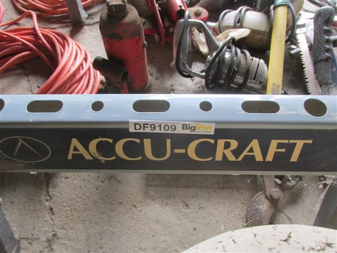 Accu Craft Work Table Assorted Tools Bigiron Auctions