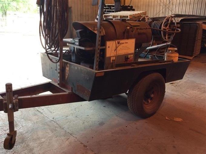 Whitco 5030PEO Electric Steam Genie W/Trailer BigIron Auctions