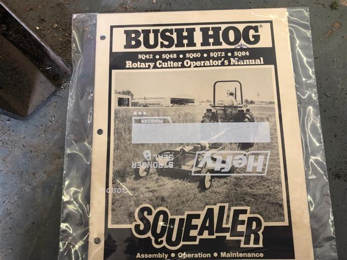 Bush Hog Squealer 3-Pt Ditch Mower BigIron Auctions
