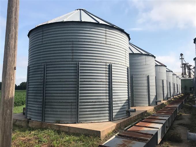 Grain Storage Bins BigIron Auctions