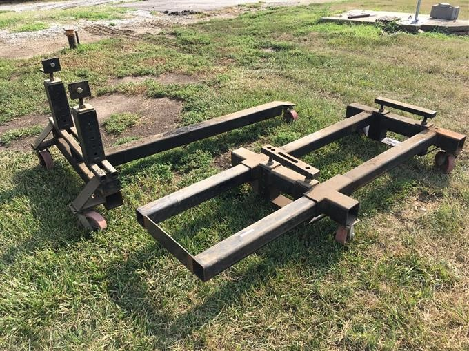 Tractor Splitting Stands For Tractors : Bigiron