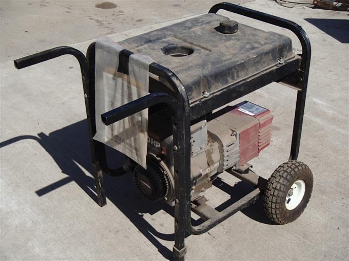 Coleman 5000 E R Powermate Generator BigIron Auctions
