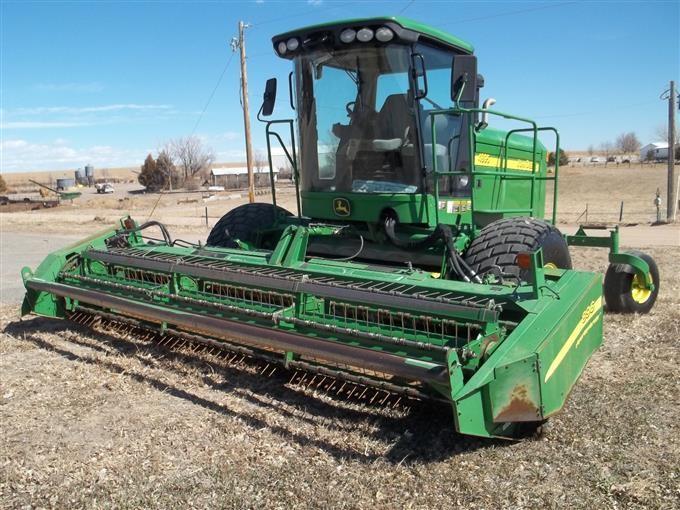 2007 John Deere 4895 Self-Propelled Swather BigIron Auctions