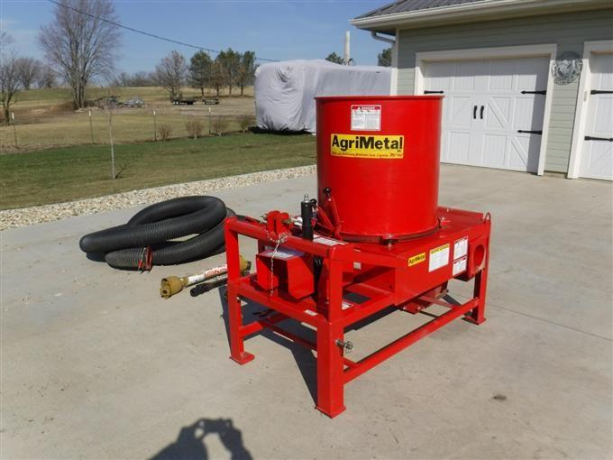 AgriMetal Model PTO L/S Straw Mulcher BigIron Auctions