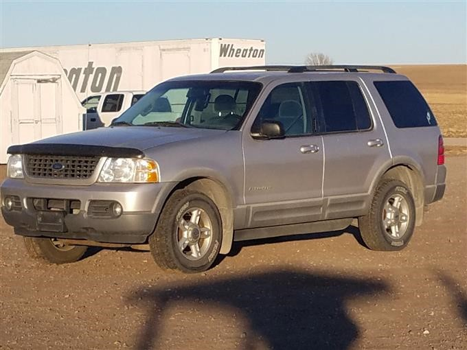 2002 Ford Explorer Xlt 4 Door Suv Bigiron Auctions