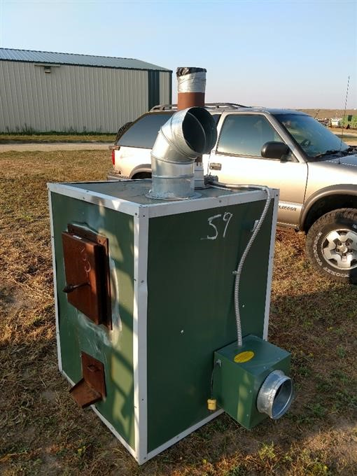Wadena Outdoor Forced Air Wood Furnace Bigiron Auctions