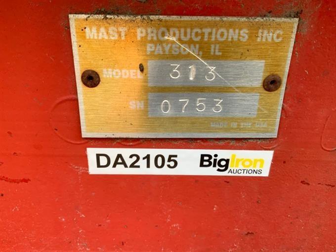 Mast Productions 313 Drive Over Dump Pit BigIron Auctions