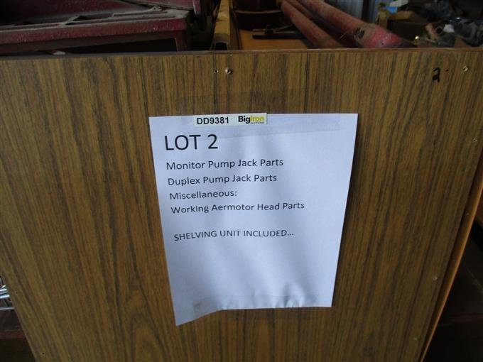 Pump Jack Parts Plus Shelf BigIron Auctions