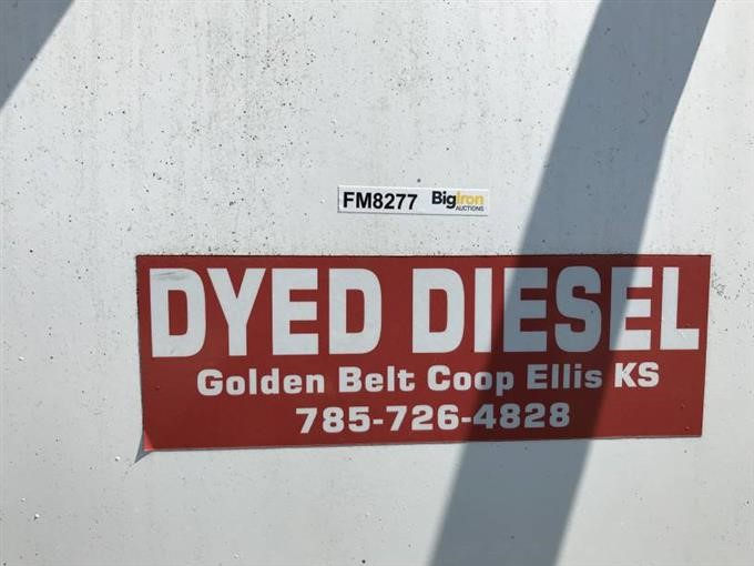 1000 Gallon Dyed Diesel Tank BigIron Auctions