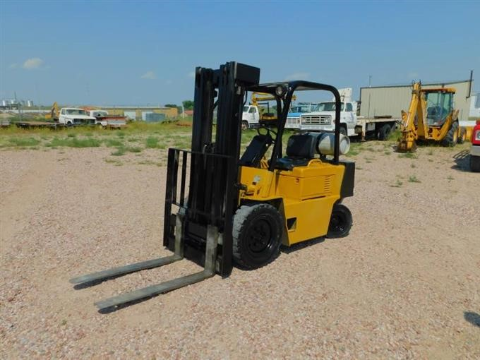 Caterpillar V50D Forklift BigIron Auctions