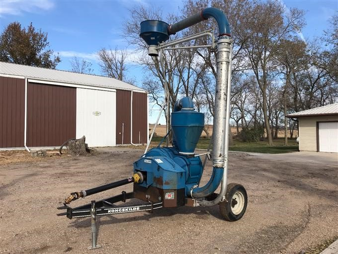 Kongskilde Cushion-Air 700 Grain Vac BigIron Auctions