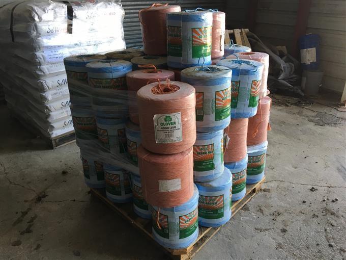 Clover/Grand Harvest 4000-350 Polypropylene Baler Twine BigIron Auctions