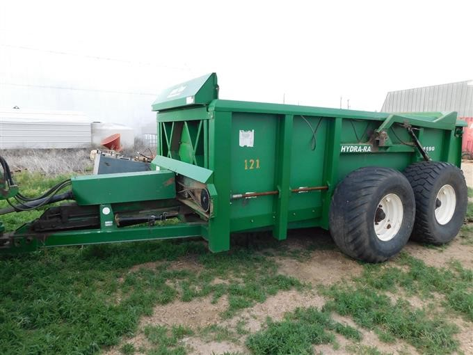 hydra ram manure spreader