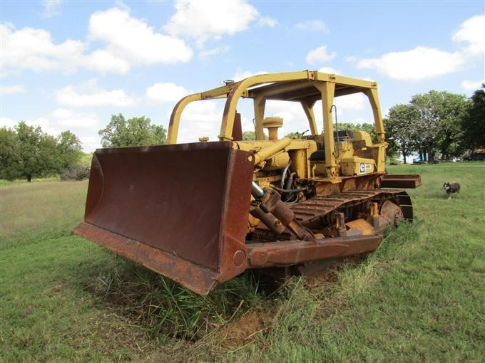 1972 Caterpillar D6C Dozer BigIron Auctions