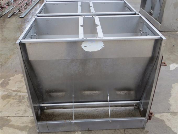 Hog Slat Jumbo Dry SS Hog Feeder BigIron Auctions