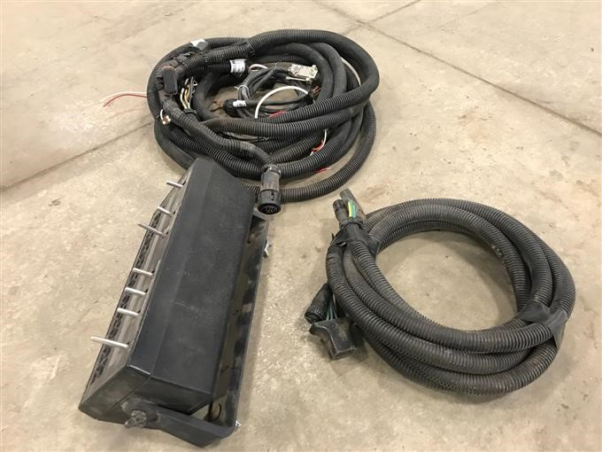 raven wiring harness red wire wiring harness raven scs 440 nvm monitor w/wiring harnesses bigiron auctions