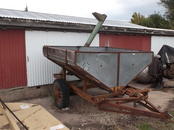 Homemade Grain Wagon BigIron Auctions