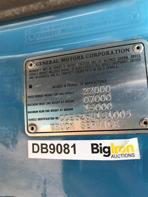 1976 Chevrolet C60 Winch Truck BigIron Auctions