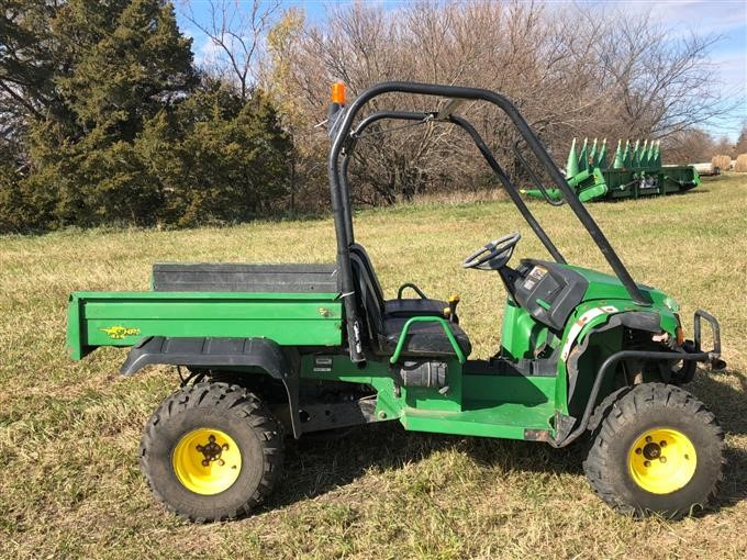 2007 john deere gator hpx diesel 4x4 utv bigiron auctions. Black Bedroom Furniture Sets. Home Design Ideas