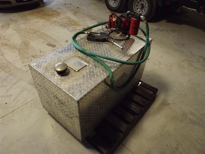 Delta 100 Gallon Aluminum Fuel Tank And 12V Pump BigIron