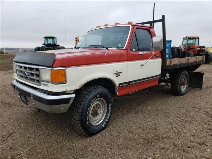 1987 Ford F250 >> 1987 Ford F250 4x4 Pickup Bigiron Auctions