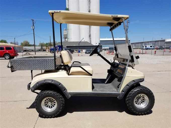 1989 Club Car Electric Golf Utility Vehicle Bigiron Auctions