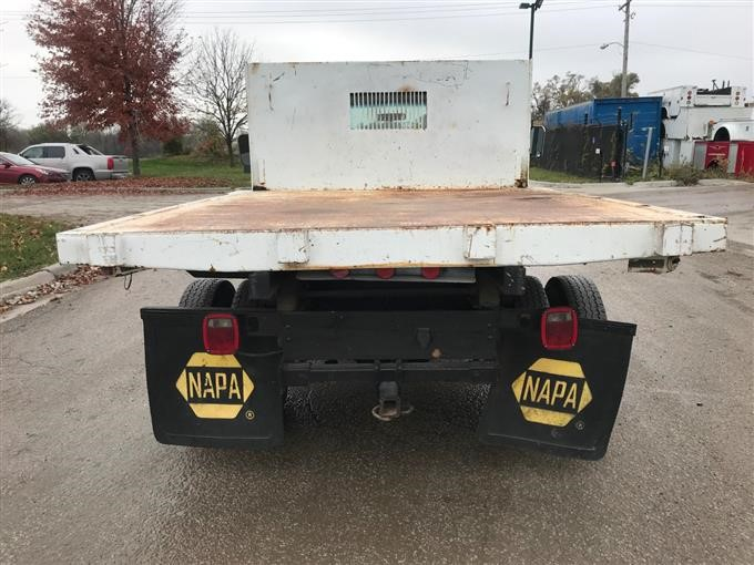 1992 Ford F350 4x4 Flatbed Dump Truck Bigiron Auctions